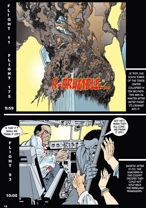9 11 commission report comic book Buy 9/11 commission report by national commission online from the works visit now to browse our huge range of products at great prices.